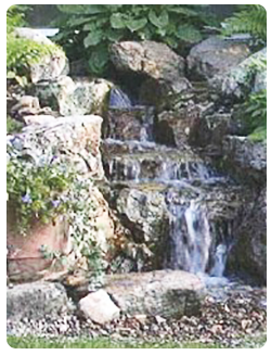 Pondless Waterfall by Groh Works